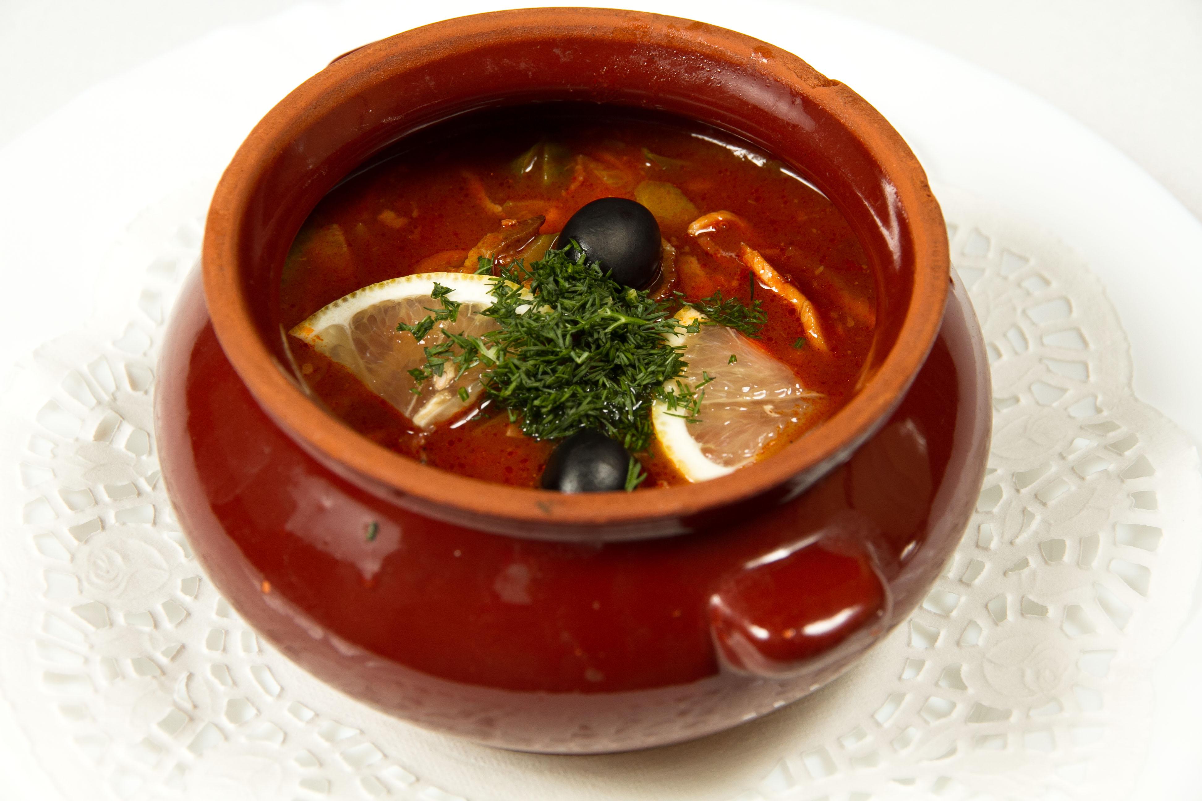 Суп солянка рецепт классический фото пошагово